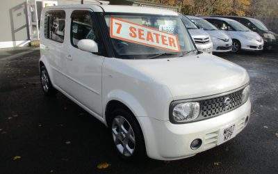 NISSAN CUBE CUBIC 7 SEATER