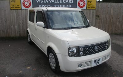 NISSAN CUBE CUBIC, 7 SEATER AUTOMATIC