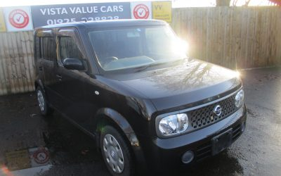 NISSAN CUBE CUBIC , 7 SEATER AUTOMATIC