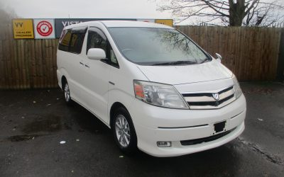 TOYOTA ALPHARD 2.4 GEDITION ,HYBRID , ELECTRIC/PETROL