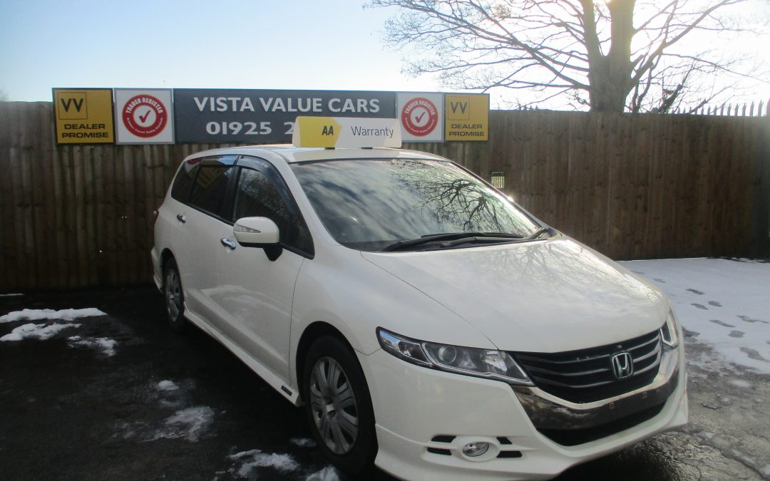 HONDA ODDESEY 2.4 , AERO PACKAGE SPECIAL EDITION